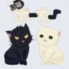 黒猫ポーカー